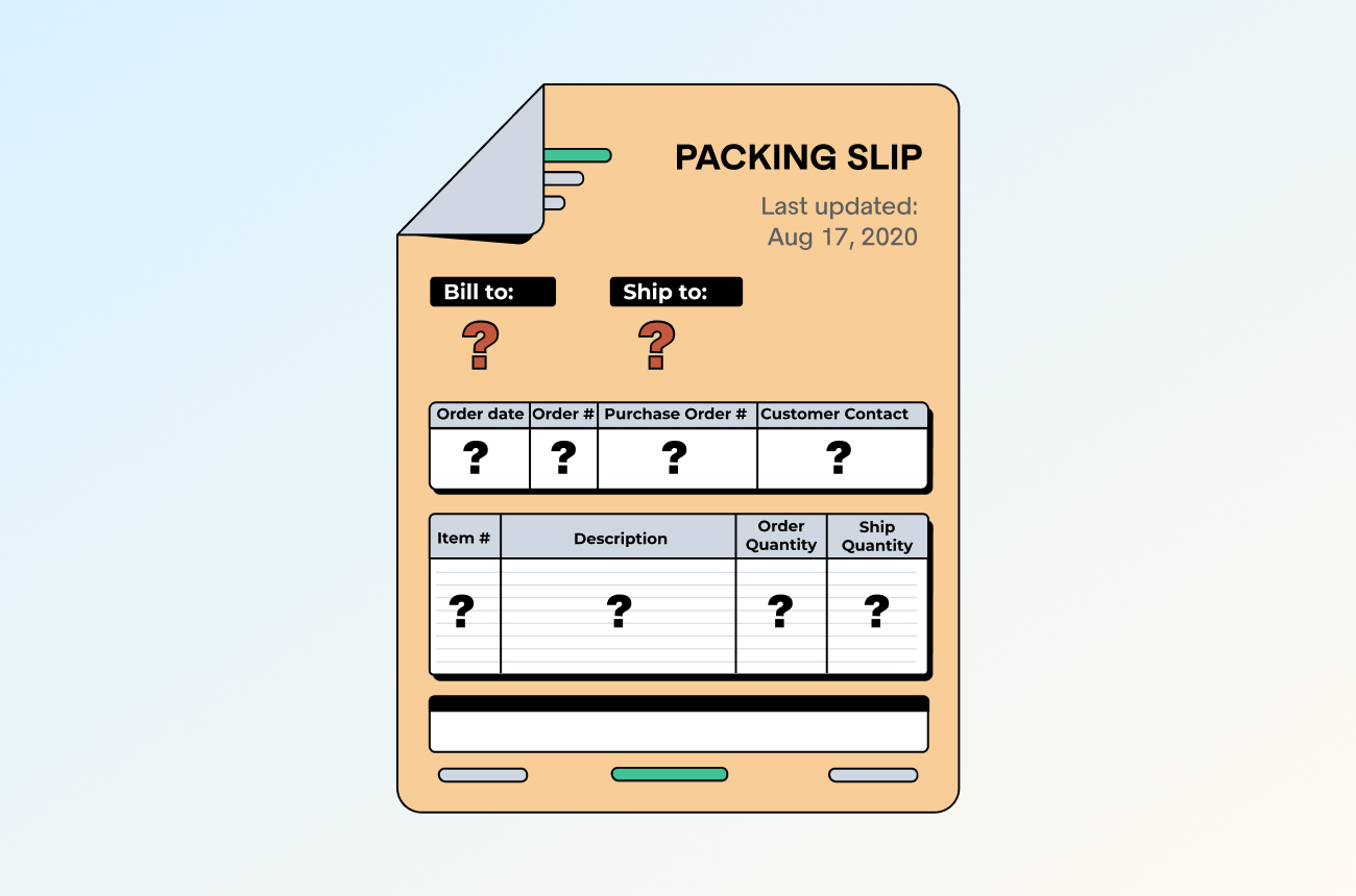 Packing Slip: The Hidden Element of Fulfillment Success