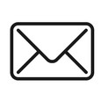 Graphic image of an envelope to symbolize an email message.