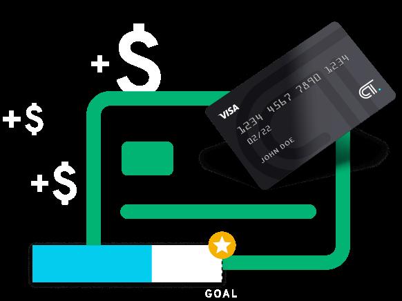 CT Cash icon graphic