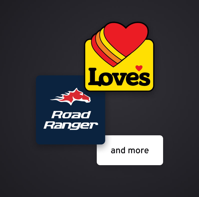 Love's, Road Ranger and more