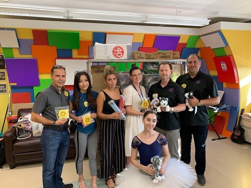 Bringing smiles with Crafting For A Cure