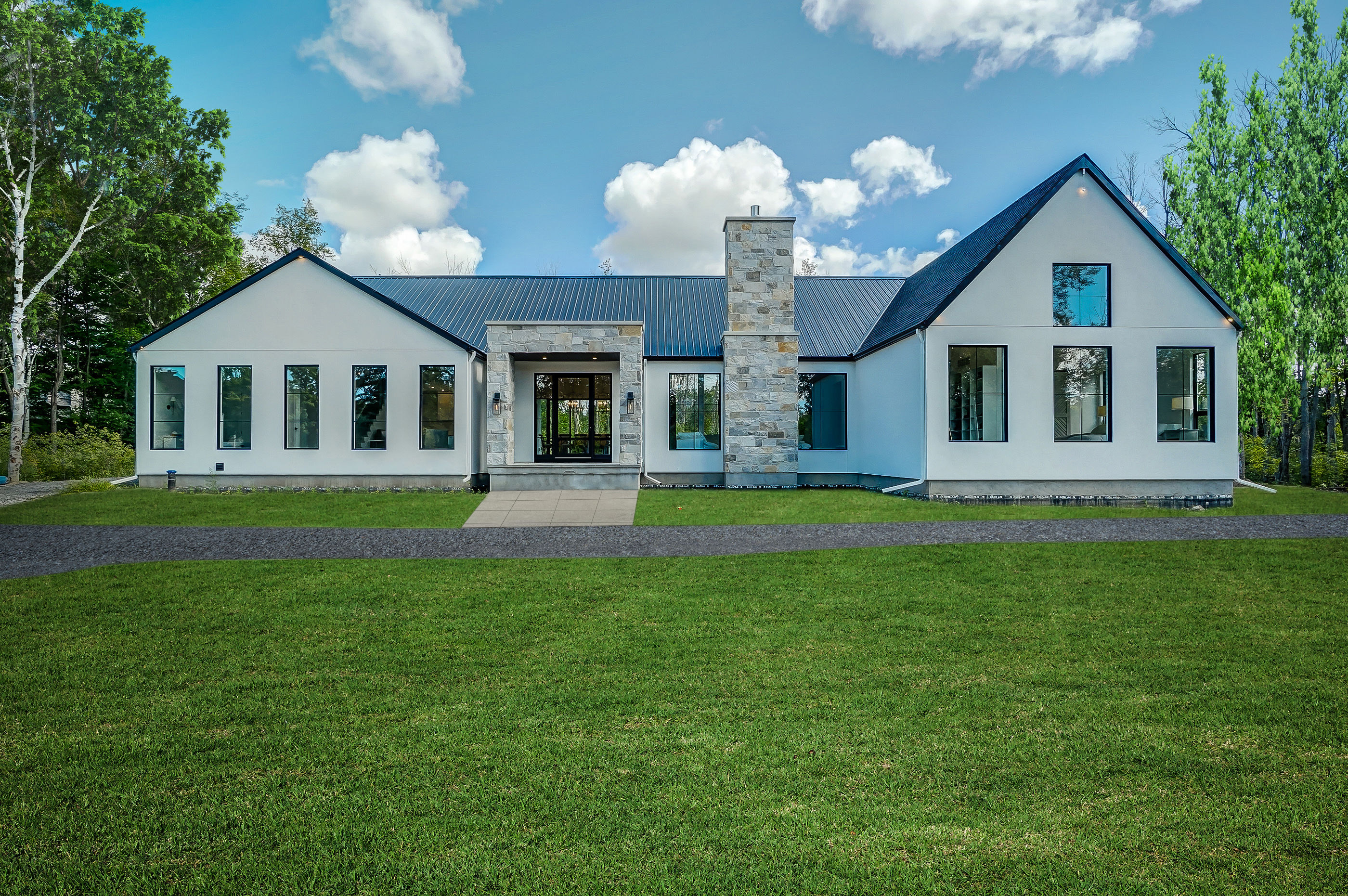 Defining the new Modern Luxury Farmhouse  in Rideau Forest