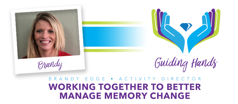 Cambridge Court team member makes significant impact on residents dealing with memory change.