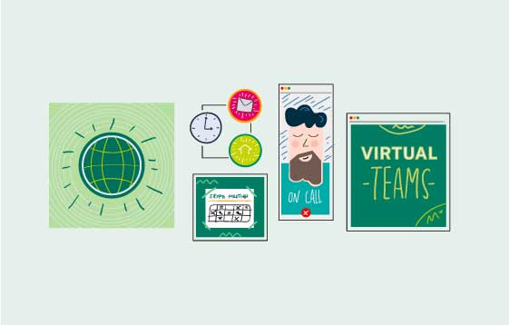 In 2019, almost all of us have had experience working in a virtual team – a 2018 global study of executives from major organisations found that 89% of respondents work on a virtual team, and 27% are on at least four virtual teams.