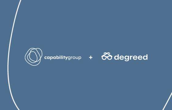 Capability Group is delighted to announce a partnership with workforce upskilling platform Degreed.