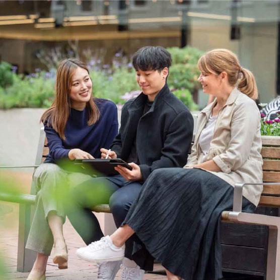 Workers use InSite platform on iPad