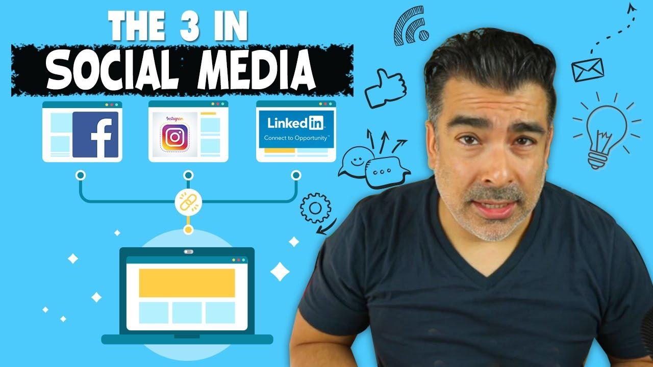 The 3 In Social Media