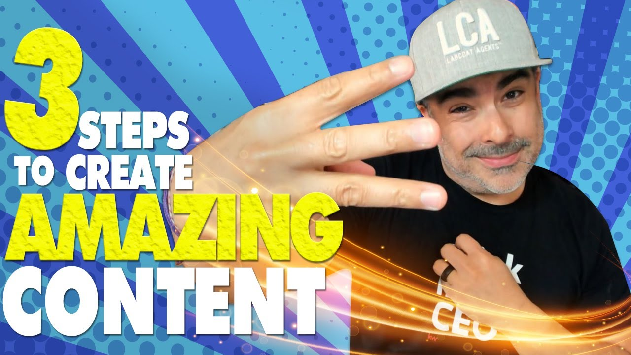 3 Steps To Creating Amazing Content For Your Business • Just WOW!