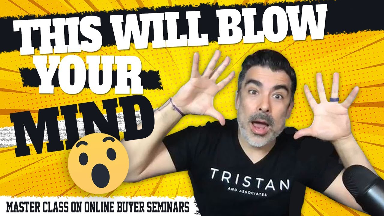 Running A Buyer and Seller Seminar Online Master Class • Don't Miss Out!