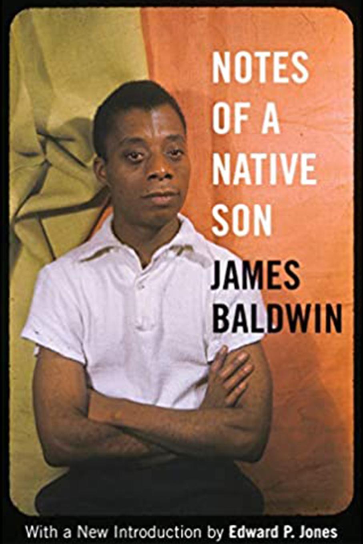 Notes of a Native Son, author James Baldwin book cover