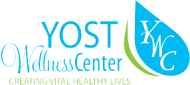 Yost Wellness Center logo.