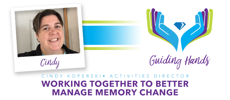 Hickory Villa team member makes significant impact on residents dealing with memory change.