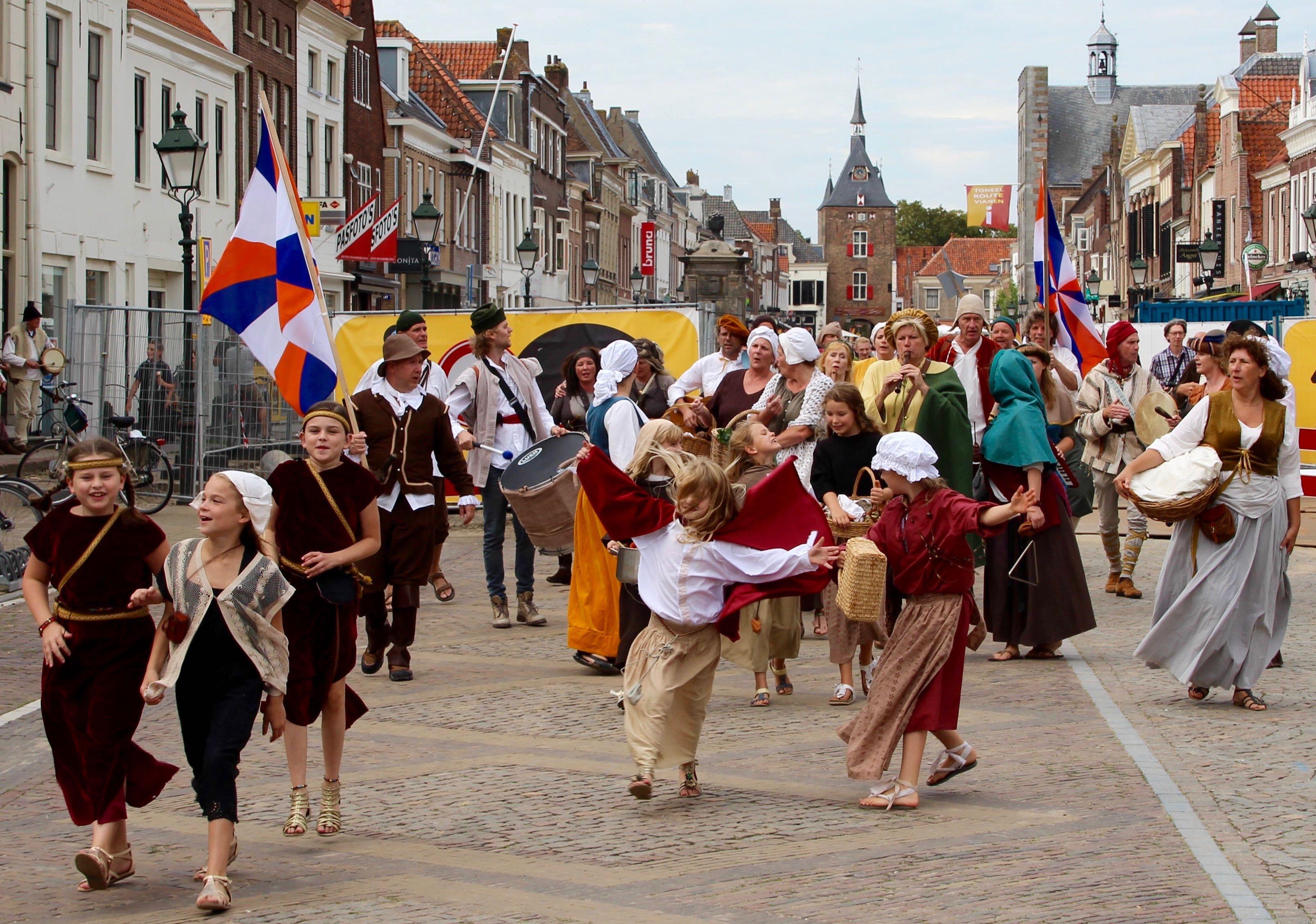 Optreden op straat