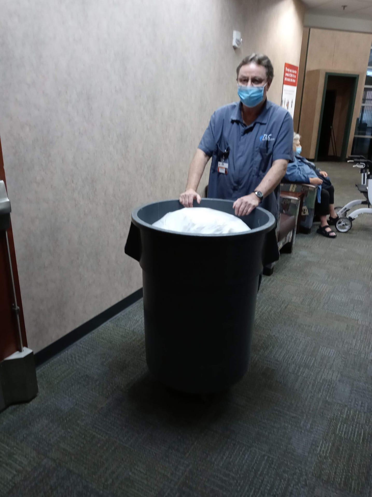 Janitorial team member