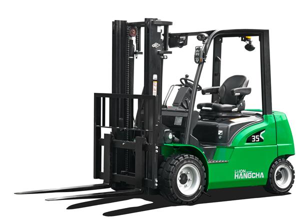 Hangcha 35 truck li-ion truck wts machinery
