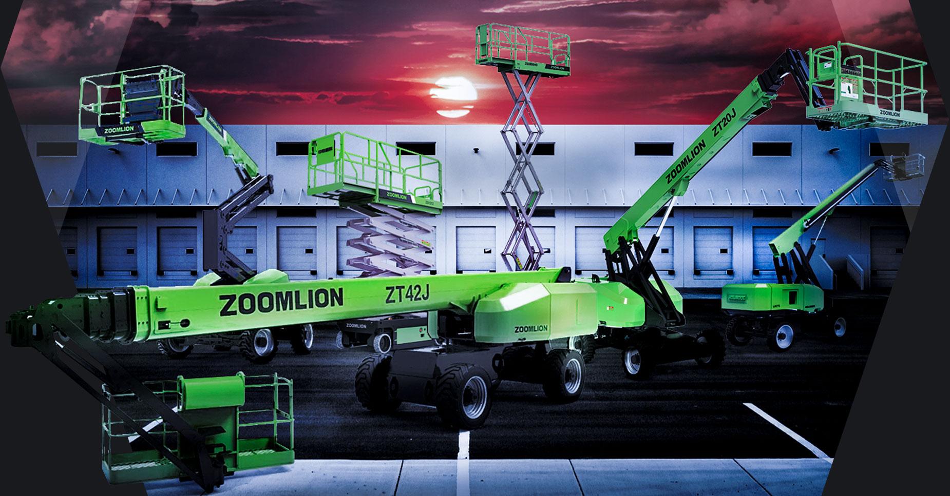 zoomlion sweden sverige lyftar från wts machinery