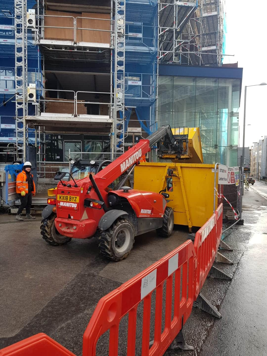 Telescopic Forklift Drivers
