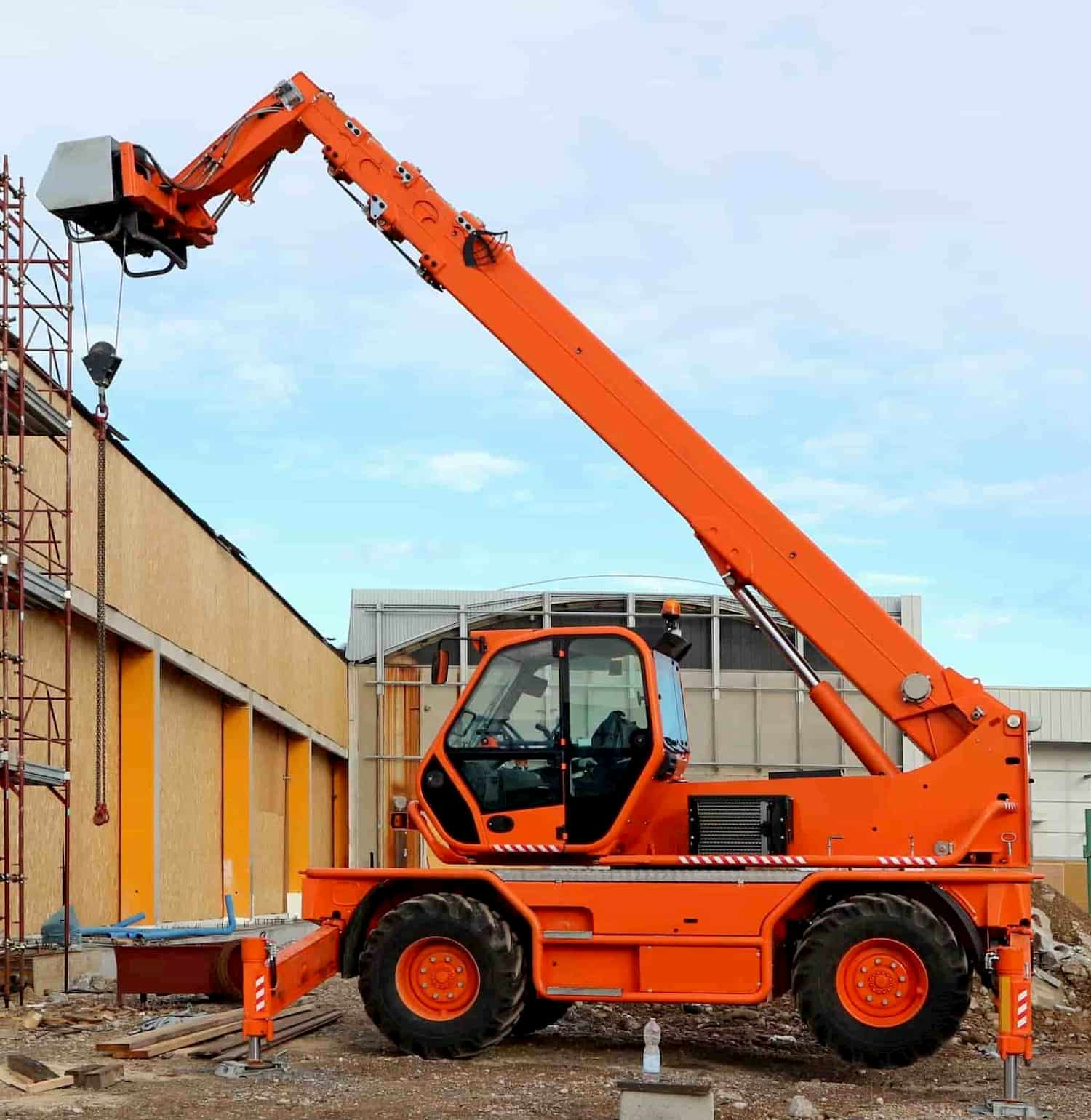 360 Slew Telehandler Operatives