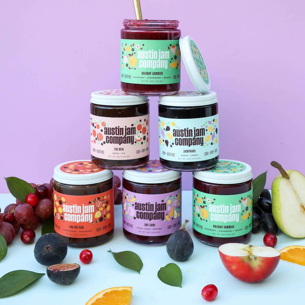 Austin Jam Company spread