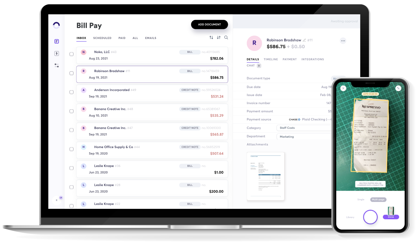 Better business bill pay is here.Hero image