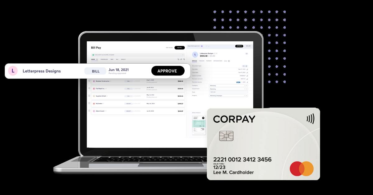 The smart self-serve card meets bill pay.
