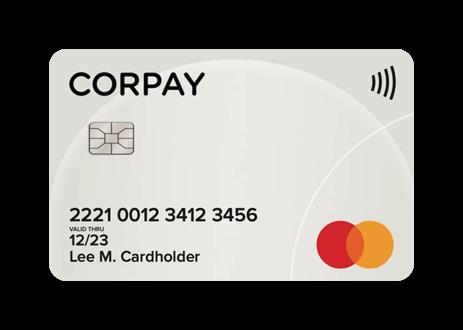 Corpay card