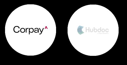 Corrpay vs Hubdoc image