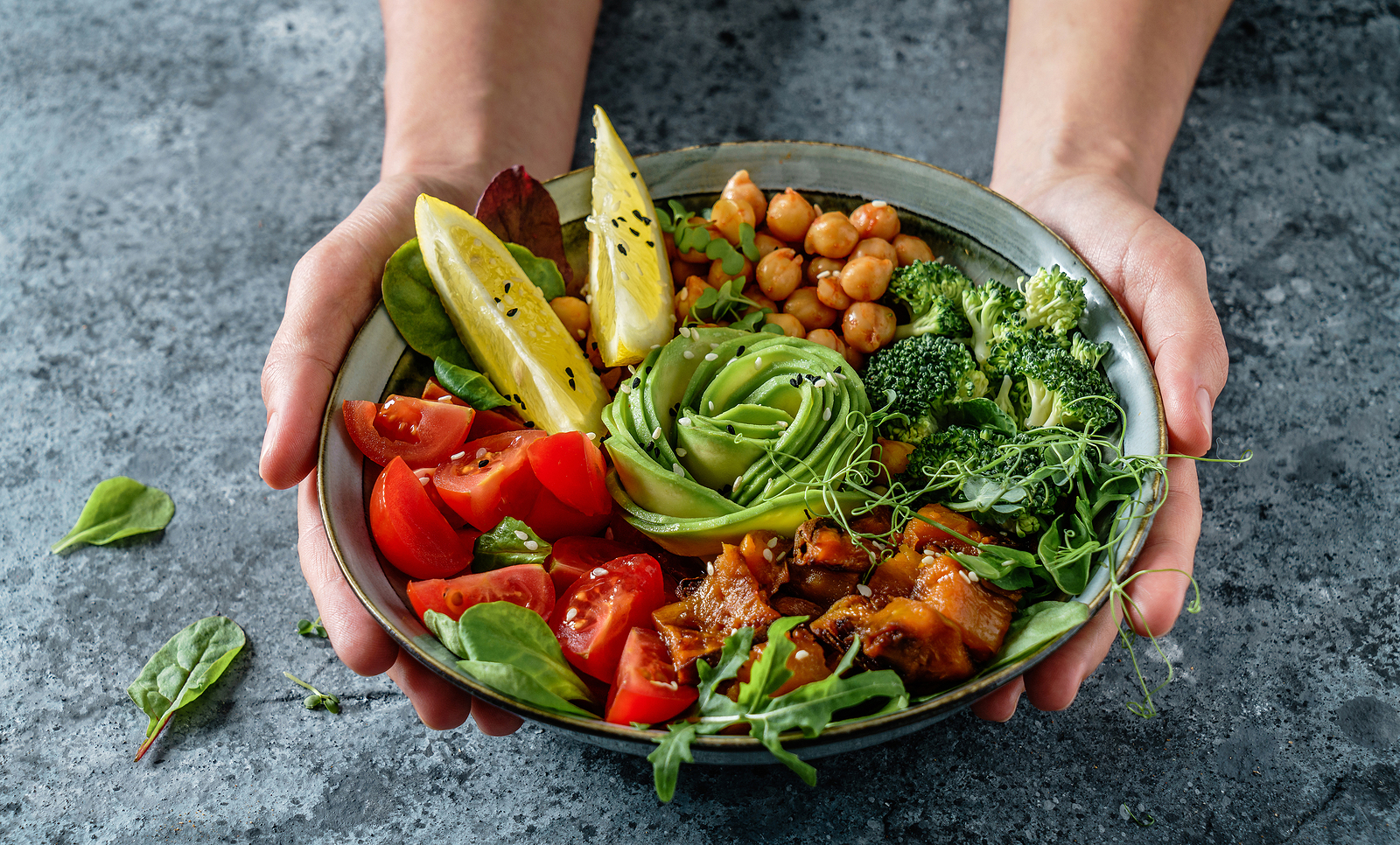 Plant-based or plant-forward dietary patterns consist of primarily foods from plants including fruits, vegetables, nuts, seeds, oils, whole grains, legumes, and beans.