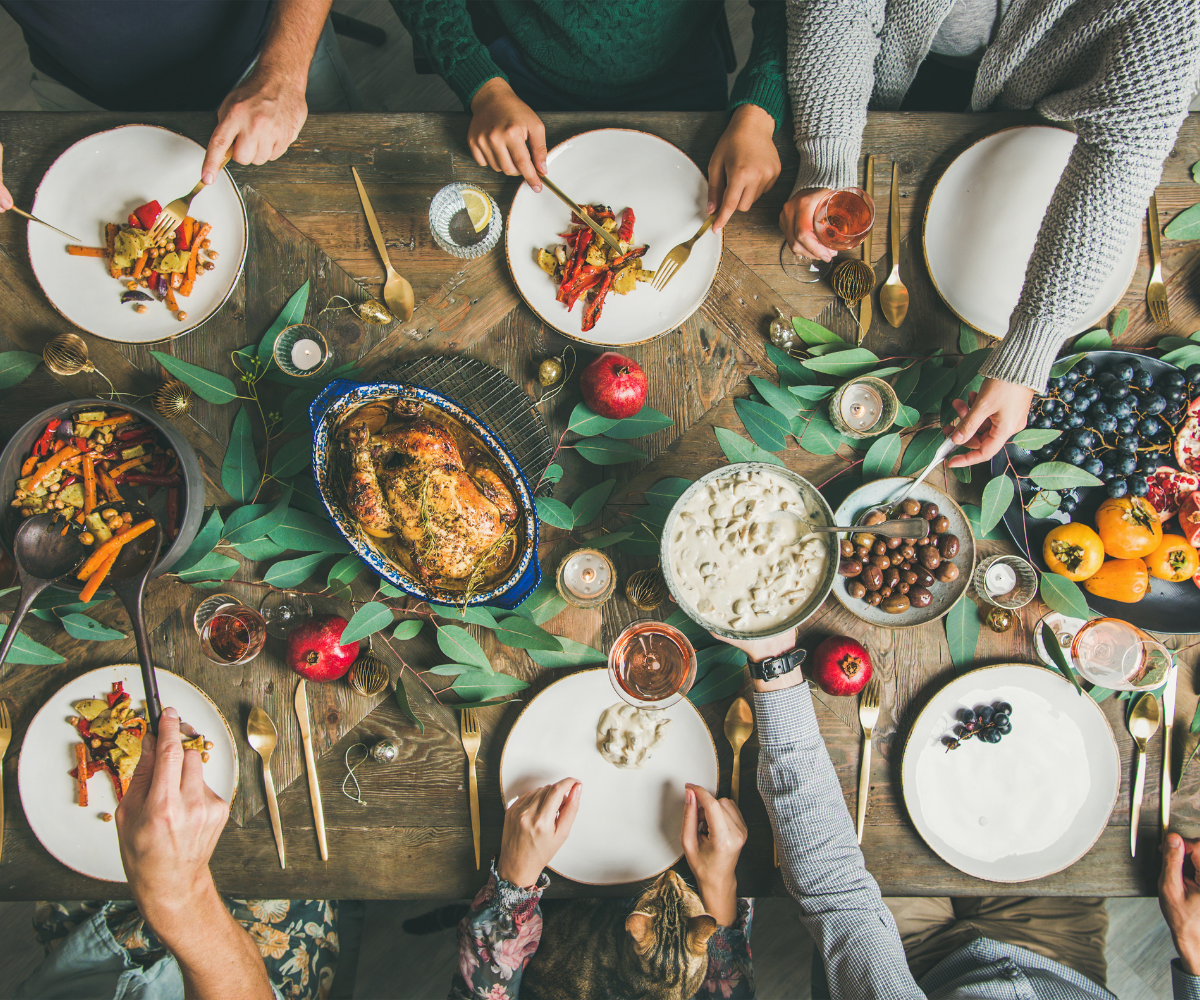 The holiday season is a time of joy and celebration, but it can also be a time when some people struggle to stay healthy and make healthy choices. Here are some healthy tips to avoid the holiday weight gain struggle, and to help you focus on making healthy choices.