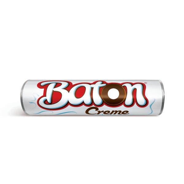 Chocolate GAROTO BATON Recheado Creme 16g