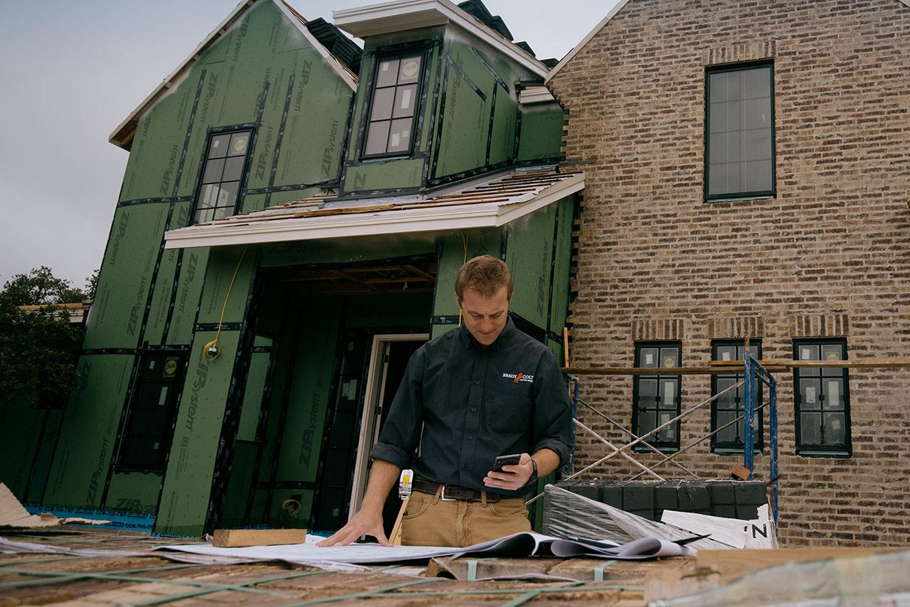 Brady Johansen with Brady Colt Custom Homes