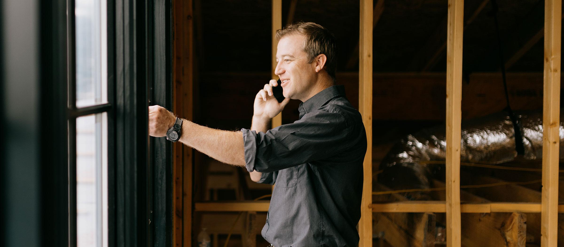 Brady Johanson of Brady Colt Custom Homes