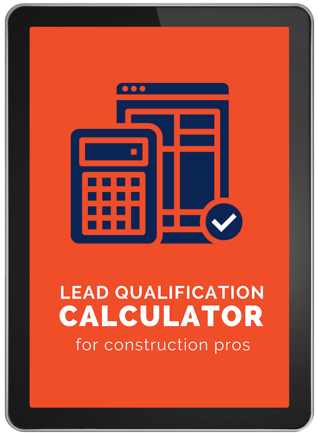 Construction project qualification calculator