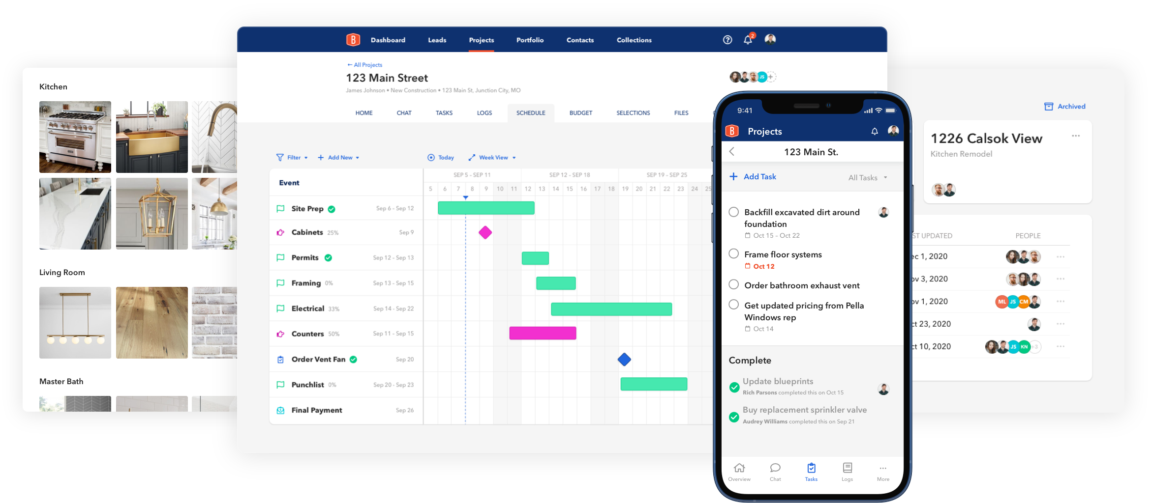 BuildBook Project Management Tools