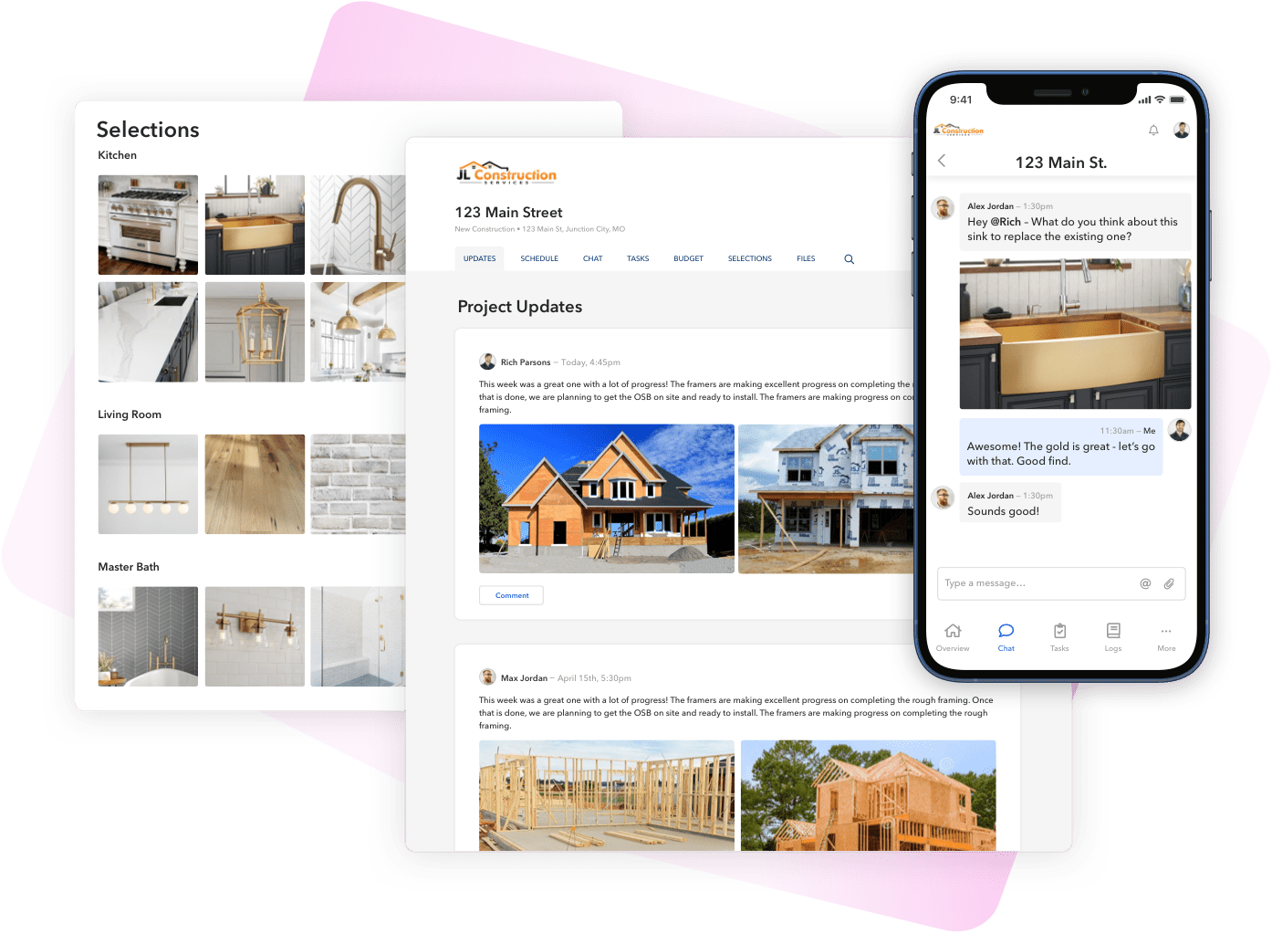 BuildBook Client Management Tools for Custom Home Builders