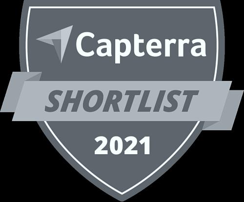 BuildBook is on the 2021 Capterra Shortlist