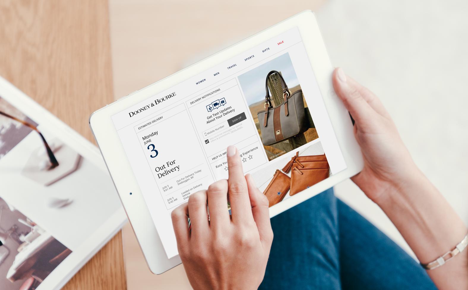 Narvar Customer Stories - Return Management Services - Dooney-Bourke