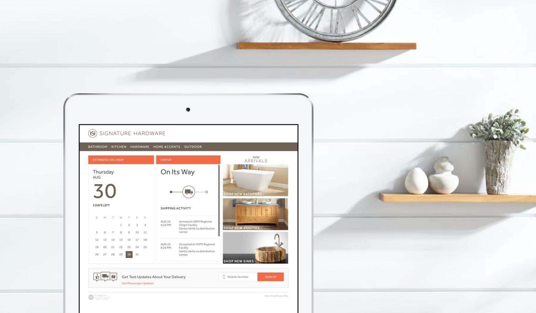 Narvar Customer Stories - Return Solutions - Signature-Hardwar
