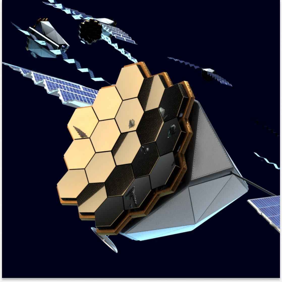 Render of the satellite