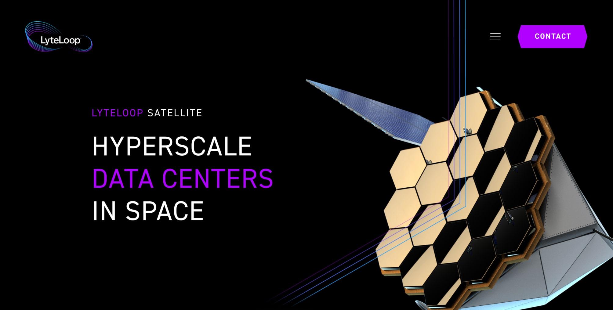 Slide 1: LyteLoop Satellite