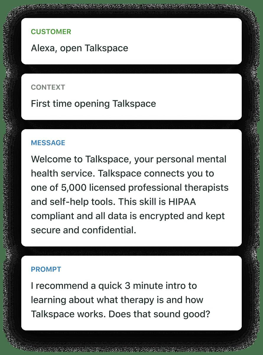 Alexa skill example