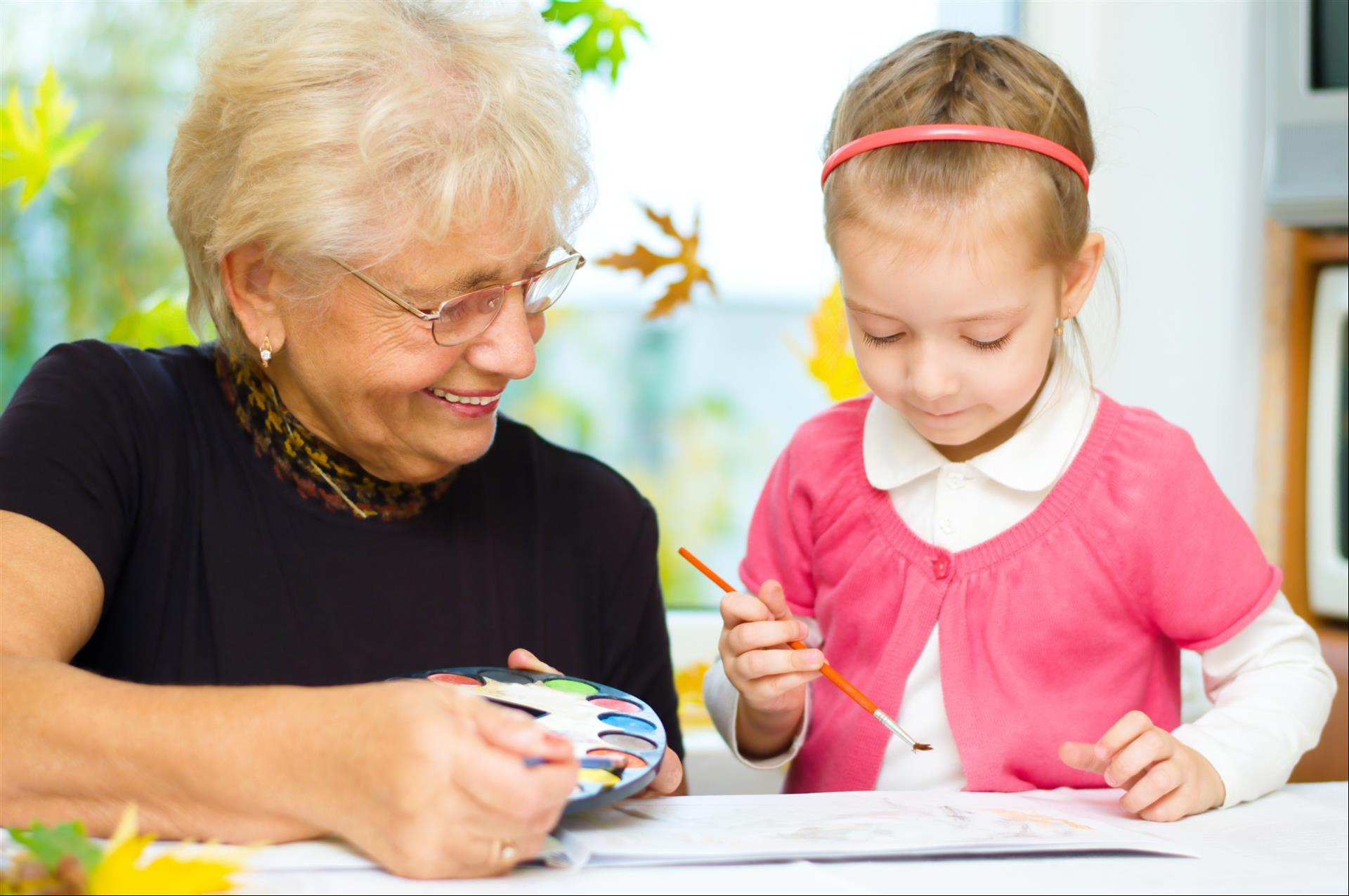 Easy Thanksgiving Crafts to Do with the Grandchildren