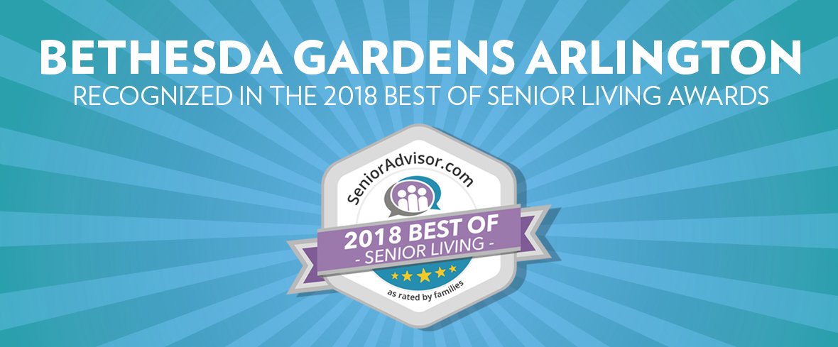 Bethesda Gardens Recognized in the 2018 Best of Senior Living Awards