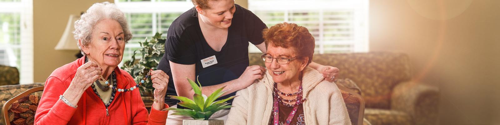 Bethesda Gardens Arlington Memory Care Header