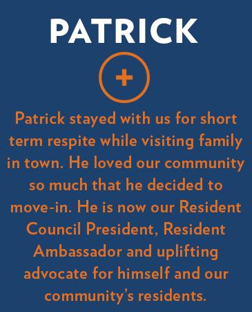 Patrick, Bethesda Gardens Respite Care, Arlington