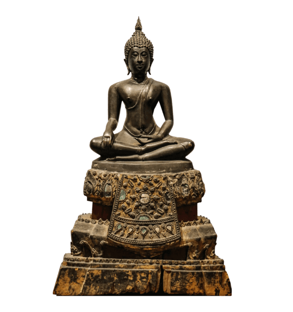 18th century Thai Bronze Buddha