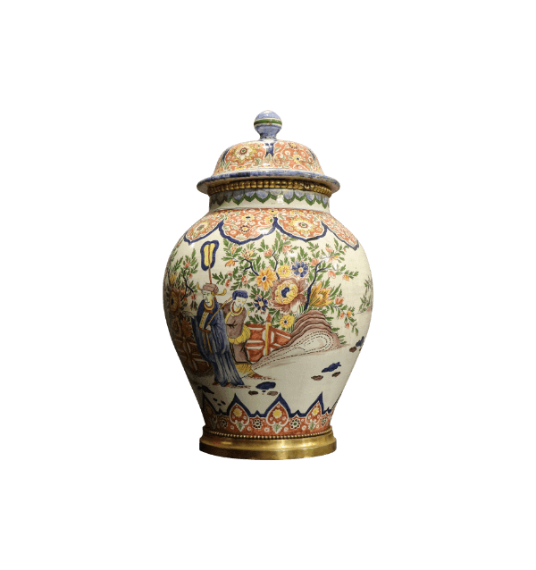 20th Century Chinese lidded Pot