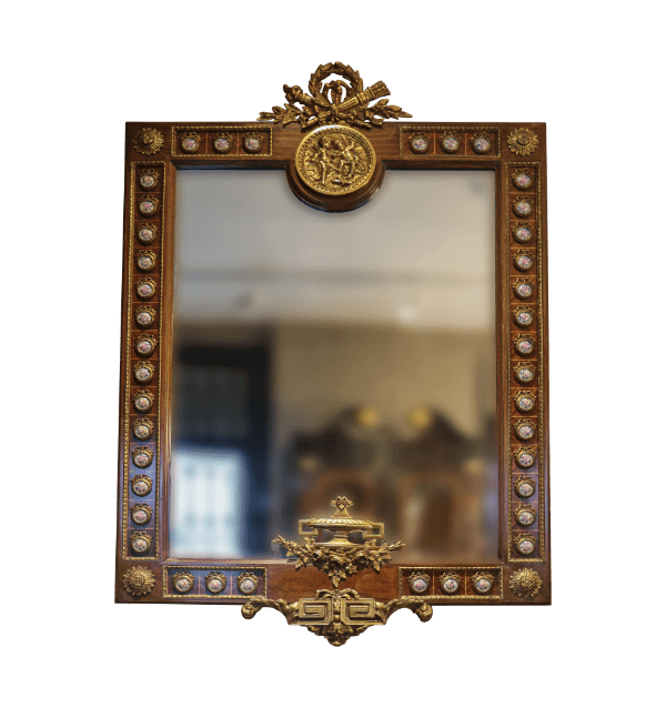 20th century Empire style french Mirror