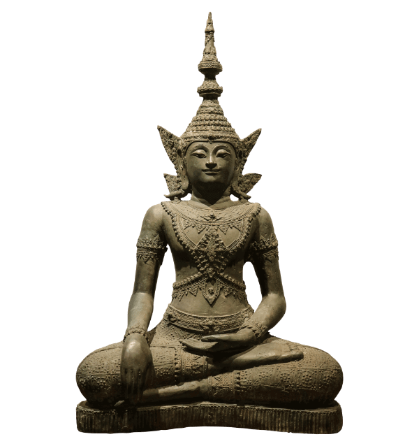 19th Century Bronze thai Buddha