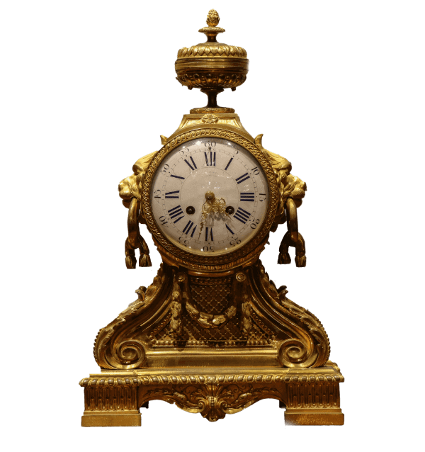 19th century French gilt metal Mantel Clock